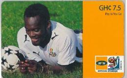 PREPAID PHONE CARD GHANA (U.7.2 - Ghana