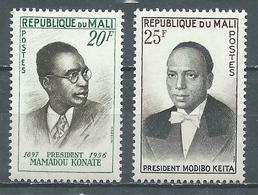 Mali YT N°13/14 Présidents Neuf ** - Mali (1959-...)