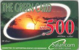 PREPAID PHONE CARD KENIA (U.7.8 - Kenia