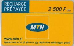 PREPAID PHONE CARD COSTA AVORIO (U.8.2 - Costa D'Avorio
