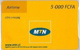 PREPAID PHONE CARD COSTA AVORIO (U.8.3 - Costa De Marfil