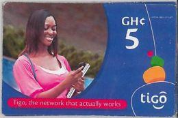 PREPAID PHONE CARD GHANA (U.11.8 - Ghana