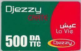 PREPAID PHONE CARD ALGERIA (U.12.5 - Algeria