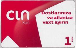 PREPAID PHONE CARD AZERBAJAN (U.12.6 - Azerbaigian