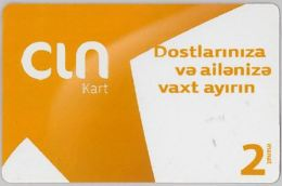 PREPAID PHONE CARD AZERBAJAN (U.12.7 - Aserbaidschan