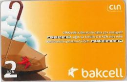 PREPAID PHONE CARD AZERBAJAN (U.12.8 - Azerbaigian