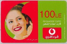 PREPAID PHONE CARD EGITTO - VODAFONE (U.13.1 - Egypt