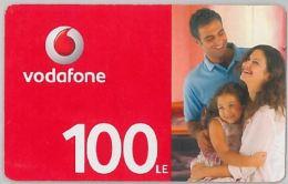 PREPAID PHONE CARD EGITTO - VODAFONE (U.13.2 - Egypt