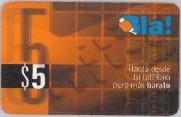 PREPAID PHONE CARD ARGENTINA (U.13.7 - Argentina