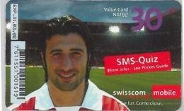 PREPAID PHONE CARD SVIZZERA (U.14.8 - Switzerland