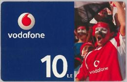 PREPAID PHONE CARD EGITTO - VODAFONE (U.18.5 - Egypt