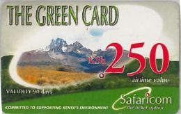 PREPAID PHONE CARD KENIA (U.18.8 - Kenya