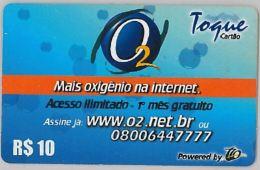 PREPAID PHONE CARD BRASILE (U.19.4 - Brazil