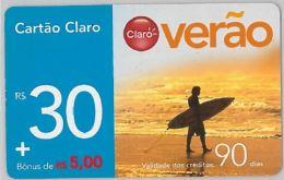 PREPAID PHONE CARD BRASILE (U.19.5 - Brazil