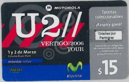 PREPAID PHONE CARD ARGENTINA (U.19.7 - Argentina