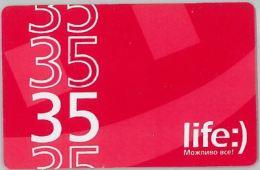 PREPAID PHONE CARD UCRAINA (U.20.1 - Ukraine
