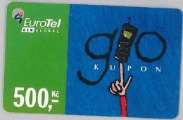 PREPAID PHONE CARD REP.CECA (U.20.4 - Czech Republic