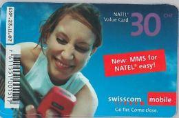 PREPAID PHONE CARD SVIZZERA (U.20.6 - Switzerland