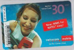 PREPAID PHONE CARD SVIZZERA (U.20.7 - Switzerland
