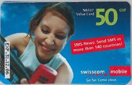 PREPAID PHONE CARD SVIZZERA (U.20.8 - Switzerland