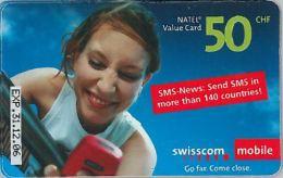 PREPAID PHONE CARD SVIZZERA (U.21.1 - Switzerland