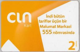 PREPAID PHONE CARD AZERBAJAN (U.21.6 - Azerbaïjan