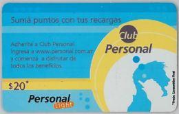 PREPAID PHONE CARD ARGENTINA (U.23.5 - Argentina