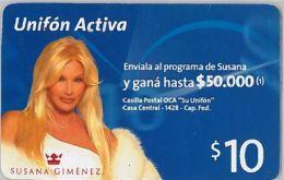 PREPAID PHONE CARD ARGENTINA (U.23.6 - Argentina