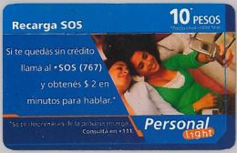 PREPAID PHONE CARD ARGENTINA (U.25.4 - Argentina