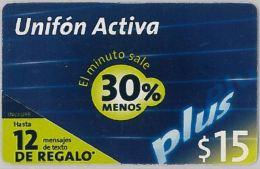 PREPAID PHONE CARD ARGENTINA (U.25.5 - Argentina