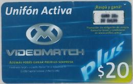 PREPAID PHONE CARD ARGENTINA (U.26.1 - Argentina