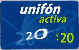 PREPAID PHONE CARD ARGENTINA (U.26.7 - Argentina