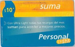 PREPAID PHONE CARD ARGENTINA (U.27.2 - Argentina