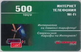 PREPAID PHONE CARD KAZAKISTAN (U.27.6 - Kasachstan