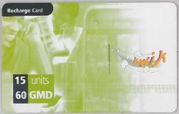 PREPAID PHONE CARD GAMBIA (U.28.6 - Gambia