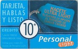 PREPAID PHONE CARD ARGENTINA (U.29.2 - Argentina
