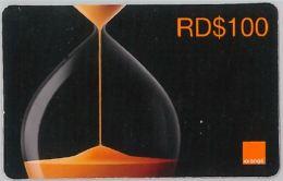PREPAID PHONE CARD REP. DOMENICANA - ORANGE (U.32.1 - Dominicana