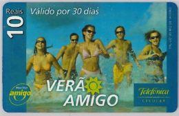 PREPAID PHONE CARD BRASILE (U.32.5 - Brazil