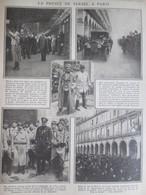 GUERRE 14-18  Le   Prince De Serbie à Paris - Alte Papiere