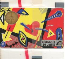 CARTE-PUBLIC-1987-F 5-BUL1-50U-MACIF-TOFFE-NSB-LUXE - France
