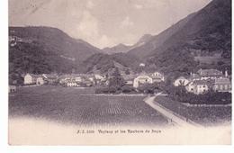 Veytaux Et Les Rochers De Naye - NE Neuchatel