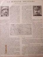 La Semaine Militaire   23 Mars Au 30 Mars 1916  à  BOIS DE CHEPPY  Varennes   Vauquois    Boureuilles - Alte Papiere