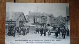 Ent Legros Houlgate Et Avranches Normandie Vidange Animée Chevaux Voiture Commerce - Houlgate