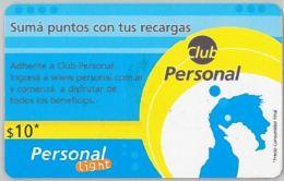 PREPAID PHONE CARD ARGENTINA (U.34.1 - Argentina