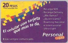 PREPAID PHONE CARD ARGENTINA (U.34.2 - Argentina