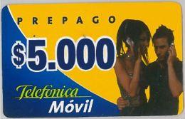 PREPAID PHONE CARD CILE (U.35.8 - Chile