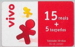 PREPAID PHONE CARD BRASILE (U.36.1 - Brazil
