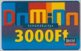 PREPAID PHONE CARD UNGHERIA WESTEL (U.36.3 - Hungary