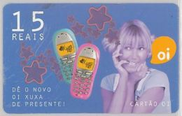 PREPAID PHONE CARD BRASILE (U.36.5 - Brazil