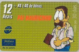 PREPAID PHONE CARD BRASILE (U.36.6 - Brazil